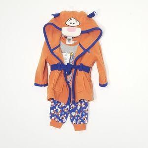 🆕️ Disney Baby | Three Piece Tigger Pajamas 3-6m